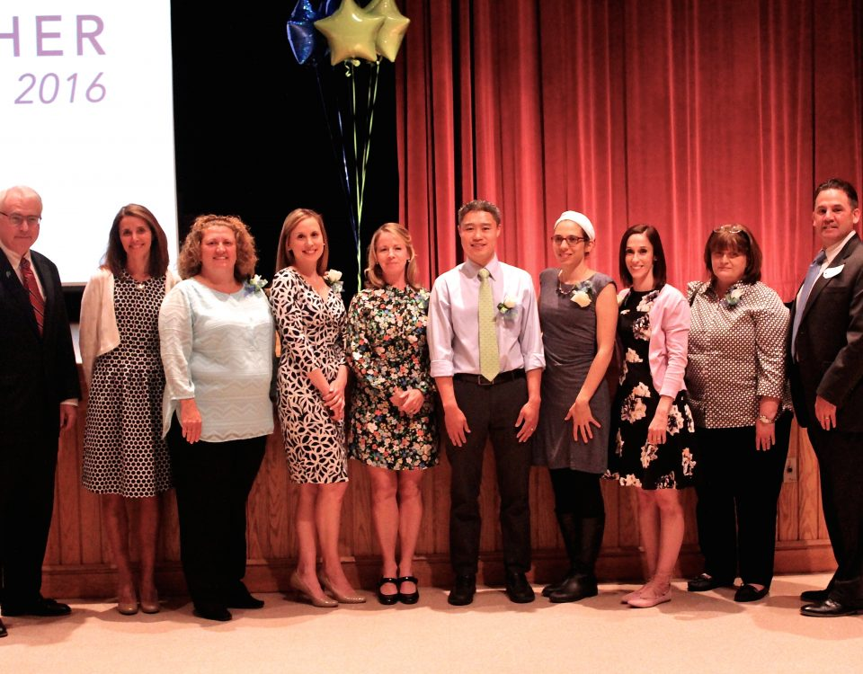 2016 Outstanding Teachers of the Year with BPS & FBE Administrators